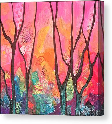 Iridescent Canvas Prints