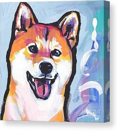 Shiba Inu Canvas Prints a1824b6036a0