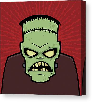Monster Canvas Prints