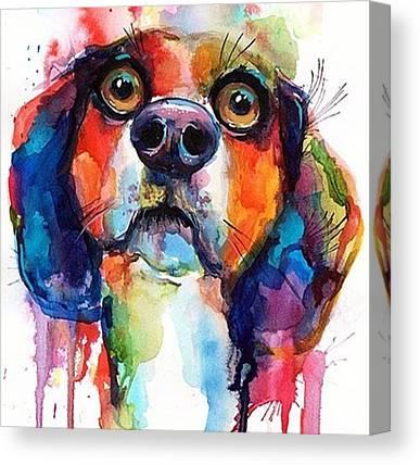 Beagles Canvas Prints
