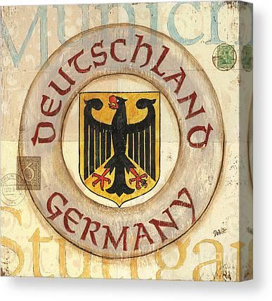 Munich Canvas Prints