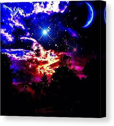 Starry Night Canvas Prints