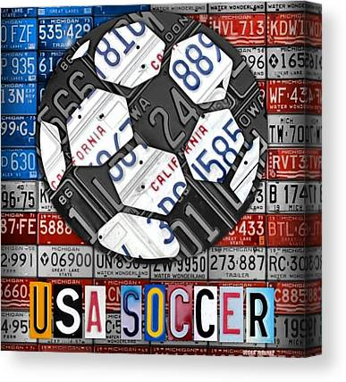 Soccer Leagues Canvas Prints