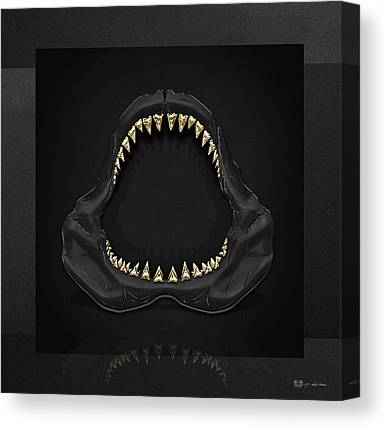 Jaws Canvas Prints