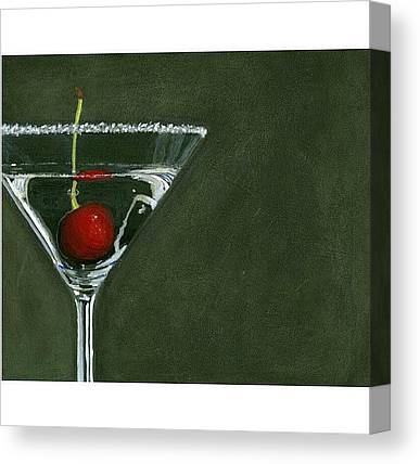 Martini Canvas Prints