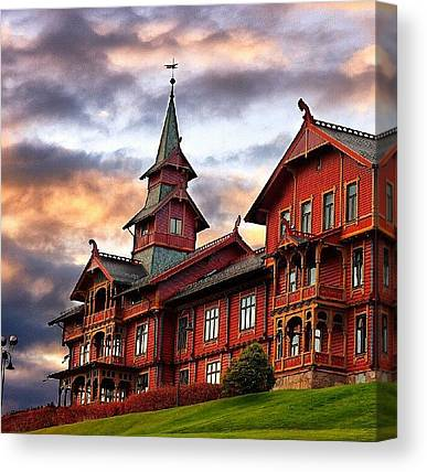 Hotels Canvas Prints