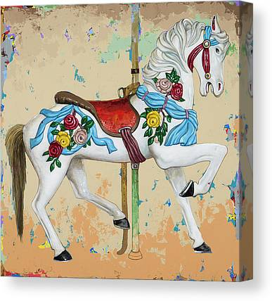 Carousel Canvas Prints