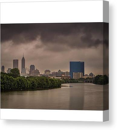 Indiana Pacers Canvas Prints
