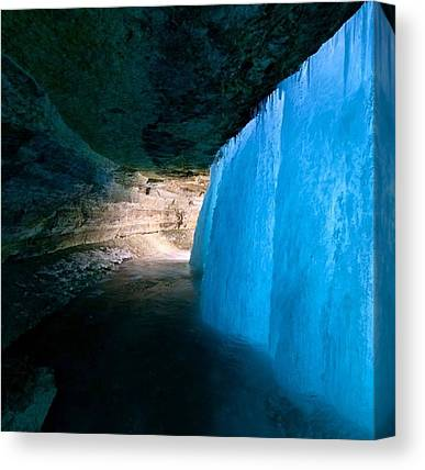 Ice Caves Canvas Prints