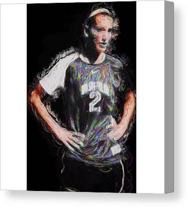 Athlete Canvas Prints