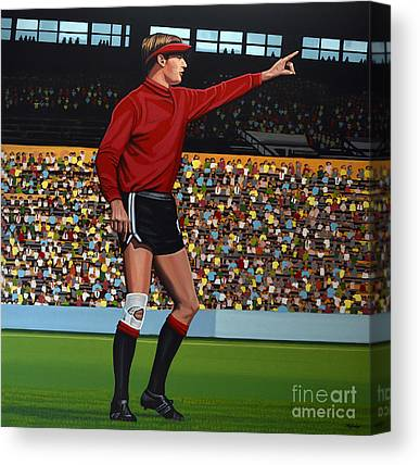 Goalkeeper Paintings Canvas Prints