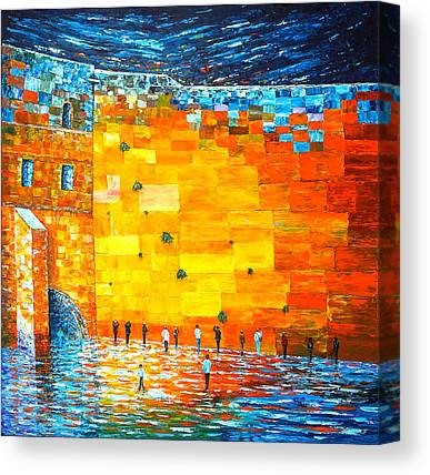 Kotel Canvas Prints