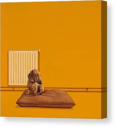 Dachshund Art Canvas Prints