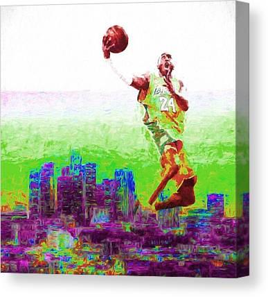 La Clippers Canvas Prints