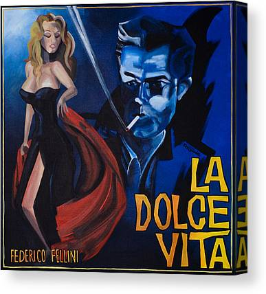 1950 Movies Paintings Canvas Prints