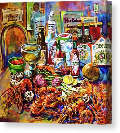 Seafood Canvas Prints