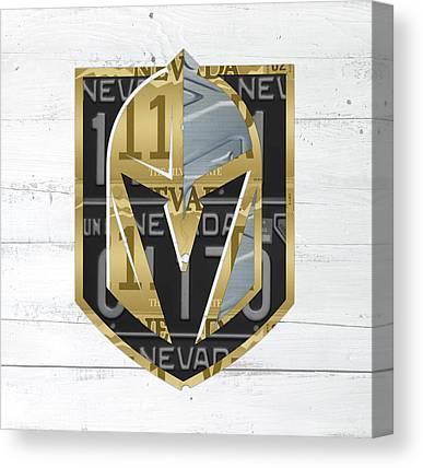 Vegas Golden Knights Canvas Prints