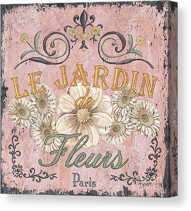 French Signs Canvas Prints