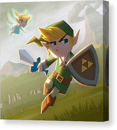 Zelda Canvas Prints