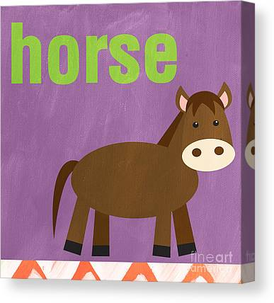 Baby Horse Canvas Prints