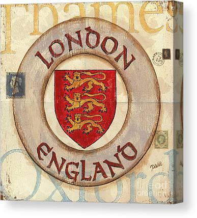City Of London Canvas Prints