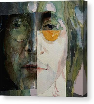 Blend Paintings Canvas Prints