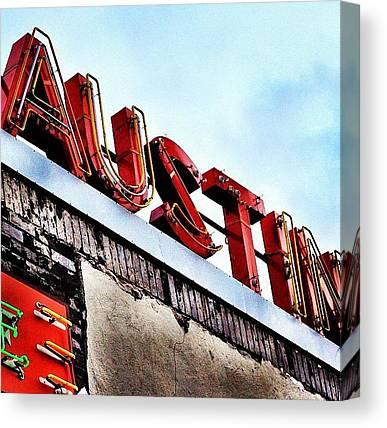 Austin Canvas Prints