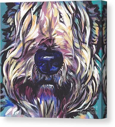 Wheaten Terrier Canvas Prints