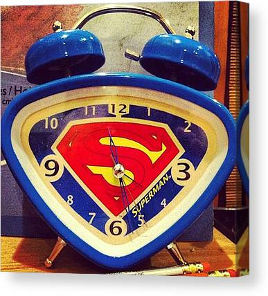 Superhero Canvas Prints