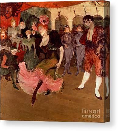 People Dance Canvas Prints