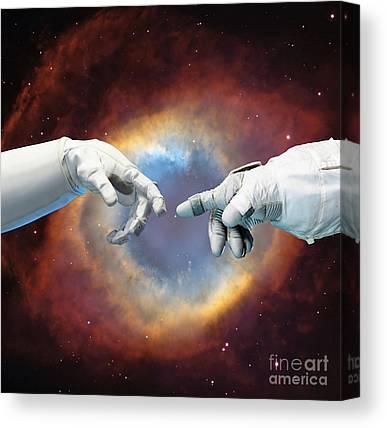 Planetary Nebula Canvas Prints
