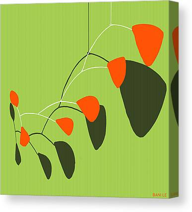 Modern Art Mobile Canvas Prints