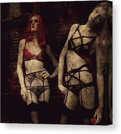 Suspenders Canvas Prints