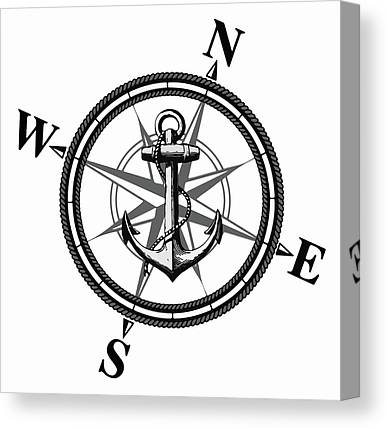 Anchor Canvas Prints