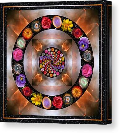 Spiritual. Geometric Photographs Canvas Prints