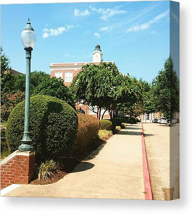 College Canvas Prints