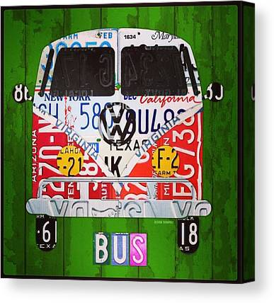 Vw Bus Canvas Prints