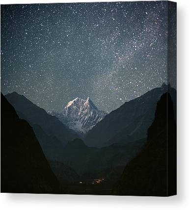 Mountain Range Canvas Prints