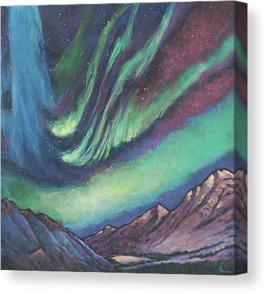 Light Show Canvas Prints