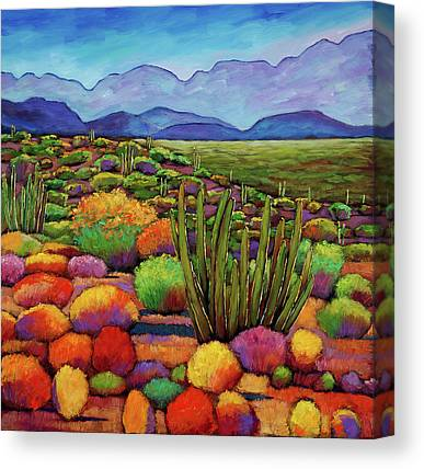 Autumn Landscape Canvas Prints