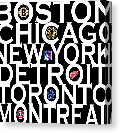 Detroit Red Wings Canvas Prints