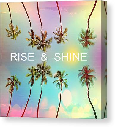 Venice Beach Palms Canvas Prints