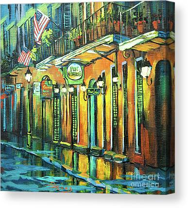 New Orleans Oil Paintings Canvas Prints