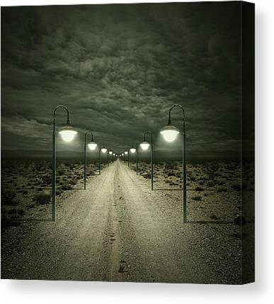 Way Digital Art Canvas Prints