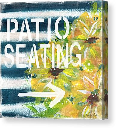 Seating Canvas Prints