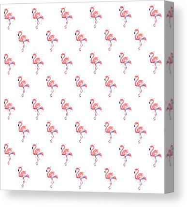 Flamingo Canvas Prints