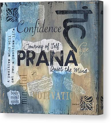 Prana Canvas Prints