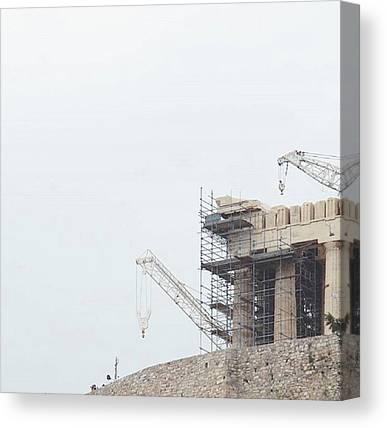 The Acropolis Canvas Prints