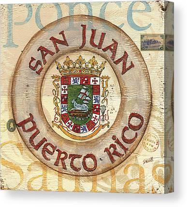 City Of San Juan Canvas Prints