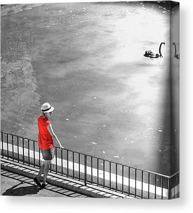 London Tube Canvas Prints